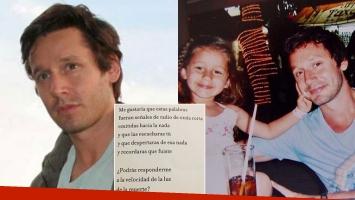 Benjamín Vicuña recordó a su hija Blanca en Instagram