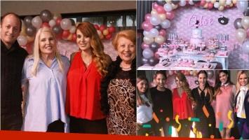Las exquisiteces del baby shower de la hija de Jésica Cirio. Foto: Instagram
