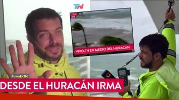 osé Bianco, el osado metereólogo que enfrenta al huracán Irma.