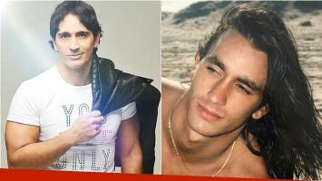 La foto vintage de Sebastián Estevanez con pelo largo: