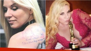 El fanatismo de Maite Zumelzú por los tatuajes… ¡y descubrí el significativo diseño que se hizo en la espalda! Foto: Revista Viva/ Twitter