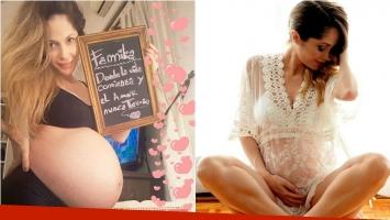 ¡La espera más dulce! Vanesa Carbone lució su súper panza de 38 semanas: