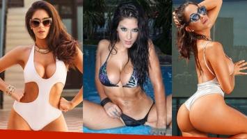 Celeste Muriega se deberá cambiar las prótesis mamarias.