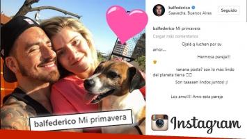 ¡Romance al sol sin maquillaje ni Photoshop! Fede Bal y su primera foto mimosa con Laurita, tras la reconciliación