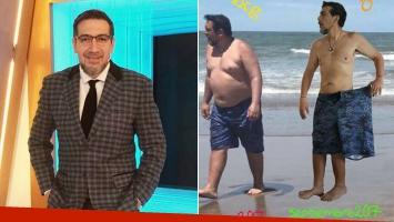 ¡Increíble transformación! Pato Galván bajó 50 kilos en siete meses