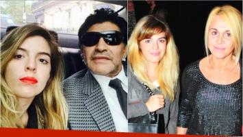 Dalma Maradona deberá declarar en el juicio de Diego Maradona contra Claudia Villafañe. Foto: Twitter