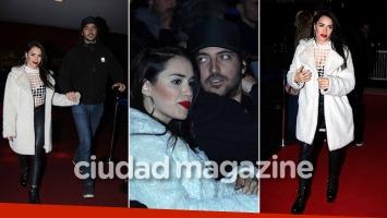 Lali Espósito, muy acaramelada con Santiago Mocorrea en la premiere de Zama. (Fotos: Movilpress)