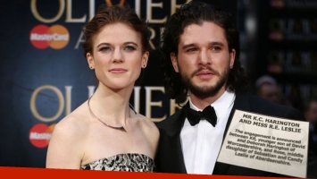 Kit Harington y Rose Leslie, de Game of Thrones, anunciaron su compromiso ¡en el diario!