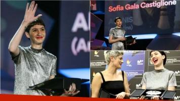 ¡Merecidísimo! Sofía Gala, mejor actriz en el Festival de Cine de San Sebastián