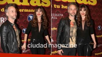 ¡Nuevo romance! Diego Iglesias y la escritora Erika Halvorsen, enamorados en el estreno de Desearás al hombre de tu hermana. (Foto: Movilpress)