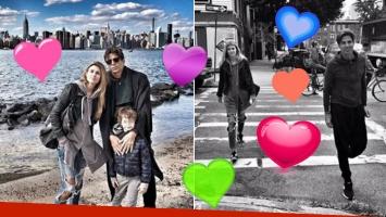 ¡Juntos a Nueva York! La escapada de Daniela Urzi y Pablo Cosentino junto a su hijo