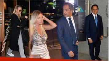 ¿Daniel Scioli y Gisela Berger, reconciliados a pocos días del nacimiento de su hijo?