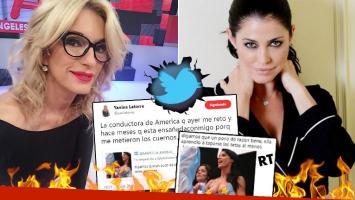 Picantísimos tweets y RT's de Yanina Latorre, tras su pelea con Pamela David