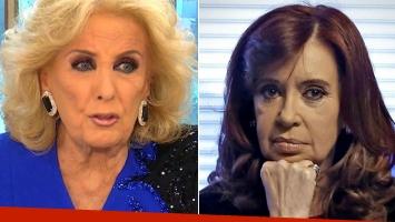 La contundente respuesta de Mirtha Legrand luego de que CFK la tildara de