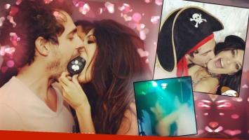 ¡Te como a besos! La apasionada sesión de mimos de Silvina Escudero con su novio