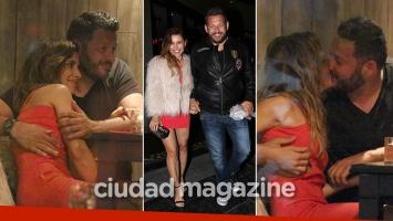 Mariana Brey, muy apasionada con su novio: mimos, besos y una manita indiscreta. (Foto: Movilpress)