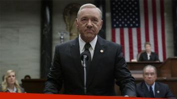 Netflix suspende la producción de House of Cards por el escándalo con Kevin Spacey