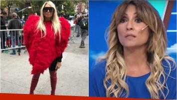 Vicky Xipolitakis apareció en el lugar del atentado de Nueva York y Marcela Tauro se enfureció: