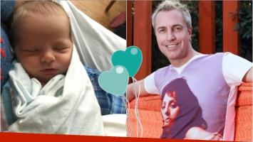 Marley, emocionado mostró la carita de su bebé: