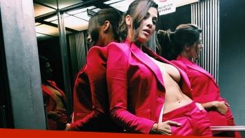 La producción súper sexy de Ivana Nadal en un ascensor. (Foto: Instagram)