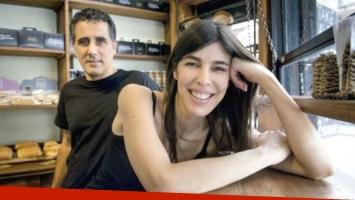 Valentina Bassi y el director Ulises Rosell, en pareja desde hace 16 años: Nos vimos en un festival de cine, pero yo...