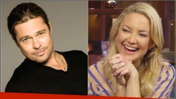 Divertida reacción de Kate Hudson por las versiones de romance con Brad Pitt: Ese rumor me gustó, fue como...