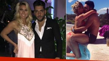 Ailén Bechara y Agustín Jiménez llevan un año en pareja.