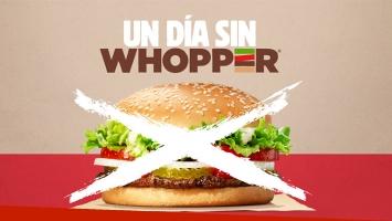 ¡Un día sin Whopper!, la acción solidaria de Burger King para imitar.