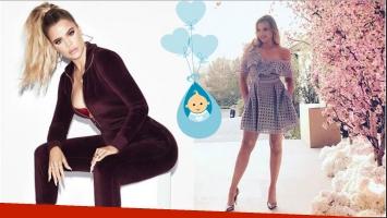 Khloé Kardashian, en la dulce espera de su primer hijo, lució su incipiente pancita