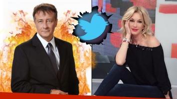 Descarnado cruce twittero de Rolando Graña con Yanina Latorre