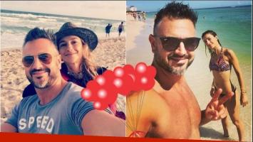 La romántica selfie de Leo Montero y su esposa, Malú Tedesco: Siempre el mar