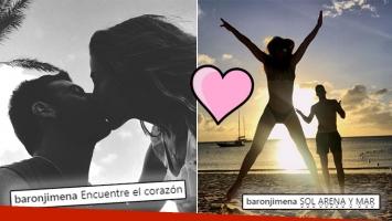 ¡Amor en la isla! Las paradisíacas vacaciones de Jimena Barón y Delpo en Santa Lucía