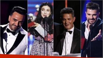 Conocé a todos los ganadores de los Latin Grammy Awards 2017