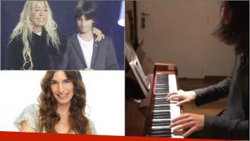 El emotivo video que compartió Cris Morena de su nieto: Que maravilla escuchar como toca