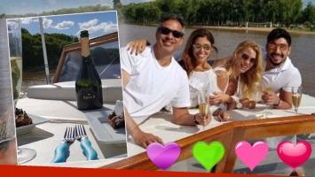 ¡Amor a bordo! El fin de semana de romance de Nicole y Moyano en los ríos de Córdoba