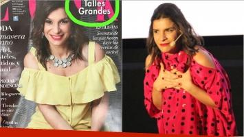 Dalia Gutmann y la tapa de una revista de moda que encendió la polémica sobre los talles grandes: Que no nos...