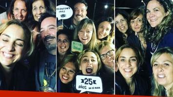 El alocado festejo de María Julia Oliván con sus excompañeros del colegio, tras 25 años de egresados: Like si nos...