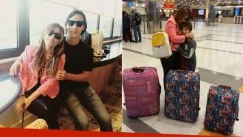 ¡Amor ensamblado! Las vacaciones de Marcelo Tauro con su novio y su hijito: Me voy con mis dos nenes