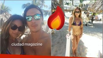 Las fotos de Marcela Tauro, en bikini y al sol durante sus vacaciones con su novio: Descanso y relax