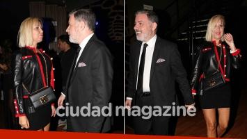 ¡Presentación en sociedad! Fabián Doman asistió con su nueva novia a un evento repleto de famosos. (Foto: Movilpress)