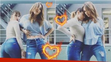 Las fotos de Connie Ansaldi y Vero Lozano, juntas y sexies… ¡con un divertido mensaje!: Incendiaron las redes