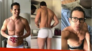 Las fotos hot de Diego Ramos de entrecasa y luciendo su súper lomo: Bienvenidos 45