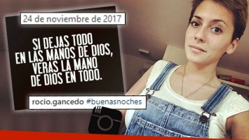 El fuerte mensaje que Rocío Gancedo publicó cinco días antes de quitarse la vida.