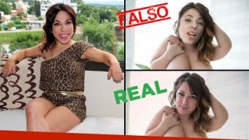La verdad de las falsas fotos prohibidas de Noelia Pompa: retocaron imágenes de la actriz porno Jemma Suicide.
