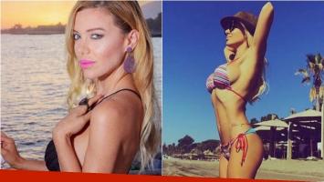 Evangelina Anderson lució su lomazo en las playas de Marbella: Inspirar y exhalar