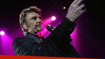 Murió Johnny Hallyday, el rey del rock francés