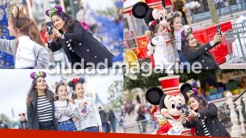Salma Hayek y una escapada a pura fantasía y diversión junto a su hija en Disney