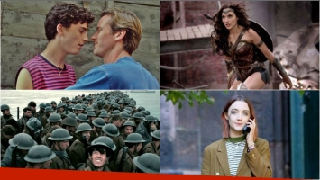 The Big Sick, Llámame por tu nombre, Dunkerque, Lady Bird y Wonder Woman, elegidas por el American Film Institute como...