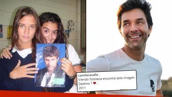 La divertida foto retro de Camila Cavallo, enamorada de Mariano Martínez cuando iba al secundario: ¿Destino?