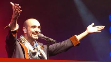 Abel Pintos ratificó su rol de numero 1 con un Monumental repleto bajo la lluvia